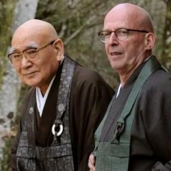 Minamizawa roshi et Taiun Faure