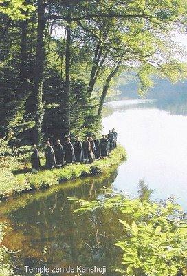 Kanshoji le lac et procession